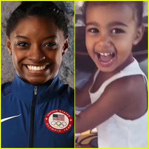 Simone Biles Says North West Can Be Her 'Mini-Me'