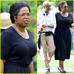Oprah Winfrey Films 'Immortal Life of Henrietta Lacks' in Atlanta