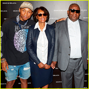 Pharrell Williams Helps His Family Launch Williams Family Kitchen Line with Dean & Deluca!