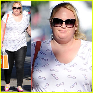 Rebel Wilson Spends Time in Los Angeles After Wrapping 'Guys & Dolls'