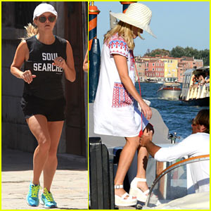 Reese Witherspoon is Enjoying Her Italian Getaway With Girlfriends!