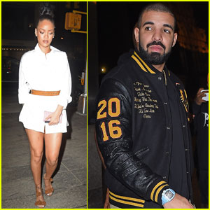 Rihanna & Drake Have a Date Night at Nobu