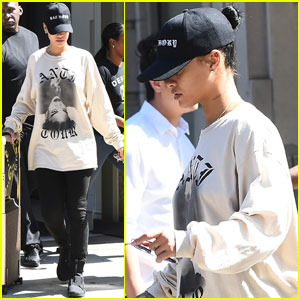 Rihanna Heads to Final Rehearsals Before the VMAs