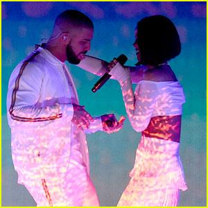 Rihanna Surprises During Drake's OVO Fest Concert in Toronto