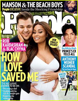 Rob Kardashian Talks Fiancee Blac Chyna: 'She Got Me Through My Darkest Times'