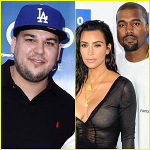 Rob Kardashian Reveals Why He Skipped Kim Kardashian & Kanye West's Wedding