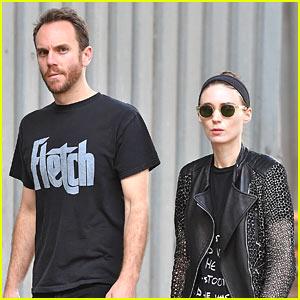 Rooney Mara & Boyfriend Charlie McDowell Step Out in the Big Apple