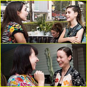 Rowan Blanchard & Brie Larson Support Women of Cinefamily