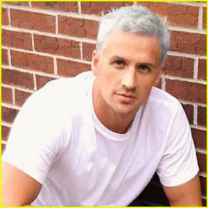 Ryan Lochte Dyes His Hair Blue Ahead of Rio Olympics!