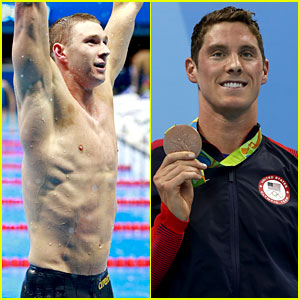 Ryan Murphy Wins Gold, Conor Dwyer Takes Home Bronze in Olympics Swimming Events!