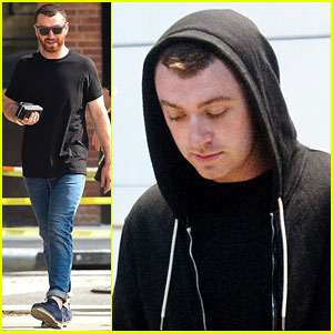 Sam Smith Arrives Back in London After New York City Trip