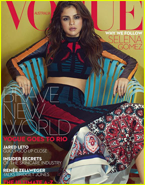 Selena Gomez Covers 'Vogue Australia' September 2016