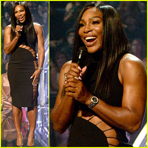 Serena Williams Introduces Beyonce at MTV VMAs 2016!