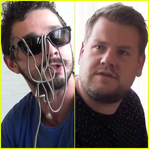 Shia LaBeouf's Post-Jail Audition Tape with James Corden Revealed - Watch Now!