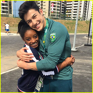 Meet Simone Biles' Brazilian 'Boyfriend' Arthur Nory As She Competes In Olympic Qualifications
