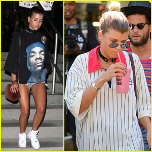 Sofia Richie Parties at Guns N' Roses Concert!