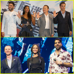 Zoe Saldana & Cast Screen 'Star Trek Beyond' in China