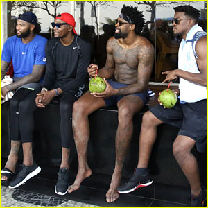 Team USA's Men's Olympic Basketball Team Hangs Out on the Beach in Rio!
