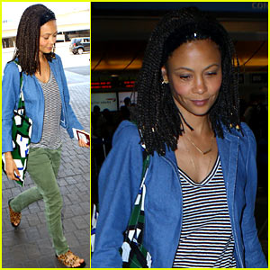 Thandie Newton Meets Alicia Vikander, Celebrates Women in Film