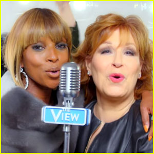 'The View' Hosts Join Mary J. Blige in 'World's Gone Crazy' Video