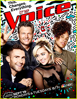 'The Voice' Season 11 Poster Features All Four Coaches!
