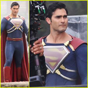 Tyler Hoechlin Gets New Armor For 'Superman' Suit on 'Supergirl'