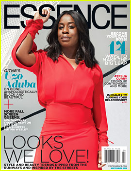 Uzo Aduba Covers 'Essence' September 2016