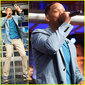 Will Smith Gives Surprise 'Summertime' Performance On 'Late Show'!