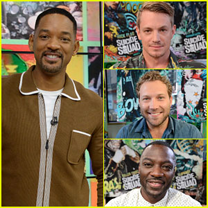 Will Smith & 'Suicide Squad' Cast Stops by 'GMA' Together