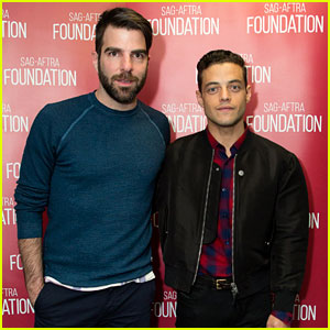 Zachary Quinto Joins Rami Malek for a 'Mr. Robot' Panel