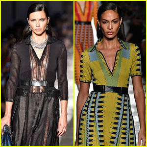 Adriana Lima & Joan Smalls Hit the Runway at the Bottega Veneta Show during Milan Fashion Week