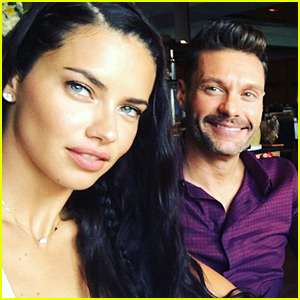 So, Are Adriana Lima & Ryan Seacrest Just Friends or More?