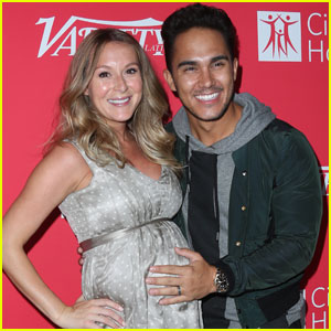 Alexa PenaVega Shows Off Baby Bump Alongside Hubby Carlos at Variety's '10 Latinos To Watch' Party