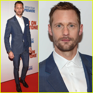 Alexander Skarsgard Brings 'War on Everyone' to Ireland