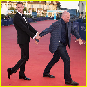 Alexander Skarsgard Premieres 'War On Everyone' At Deauville Film Festival - Watch New Trailer!