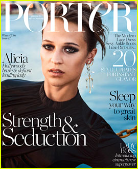 Alicia Vikander Says She & Michael Fassbender Have 'Never Hidden' Their Relationship