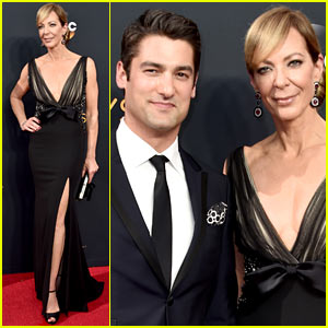 Allison Janney Brings Her Boyfriend to the Emmy Awards 2016