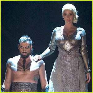 Amber Rose Does 'Game of Thrones' Themed Dance for 'DWTS' - Watch Now!