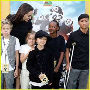 Angelina Jolie & Kids Move Into Rental Home After Divorce News