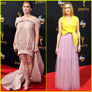 Anna Chlumsky & Laura Carmichael Bring Their Own Styles to the Emmys 2016