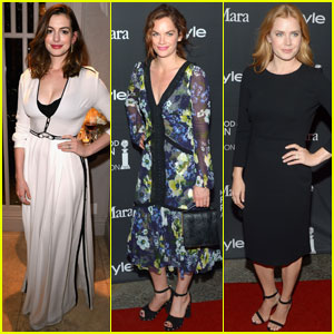 Anne Hathaway & Ruth Wilson Join Amy Adams at HFPA & InStyle's TIFF 2016 Party