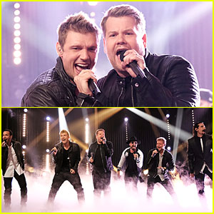 James Corden Performs with Backstreet Boys on 'Late Late Show' - Watch Now!