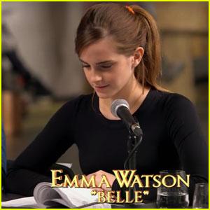 Watch Emma Watson & Dan Stevens at the 'Beauty & the Beast' Table Read in This New Sneak Peek!