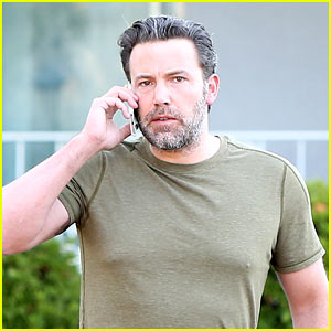 Ben Affleck Does Dad Duty Before Heading to Work