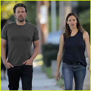 Ben Affleck & Jennifer Garner Start the Week Together