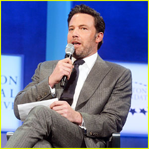 Ben Affleck Joins the Clintons at Global Initiative Meeting