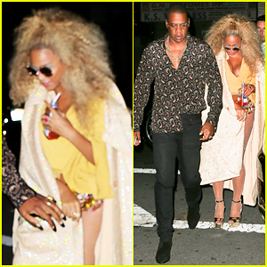 Beyonce Celebrates 35th Birthday with Soul Train-Themed Party!