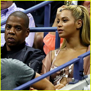 Beyonce & Jay Z Cheer On Serena Williams at U.S. Open