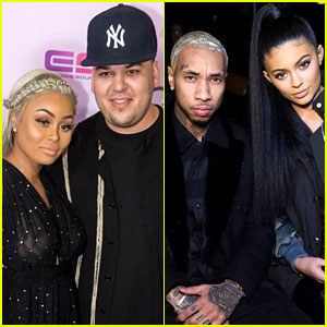 Rob Kardashian & Blac Chyna Reveal How They Reconciled with Kylie Jenner & Tyga