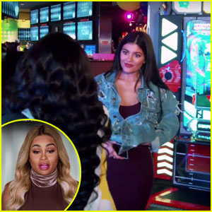 Blac Chyna Awkwardly Runs into Kylie Jenner & Tyga at Khloe Kardashian's Birthday Party (Video)